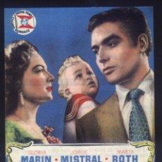 Cinema: P-8532- EL DERECHO DE NACER (RECORTE PRENSA 10 X 13) GLORIA MARIN - JORGE MISTRAL. Lote 187481885