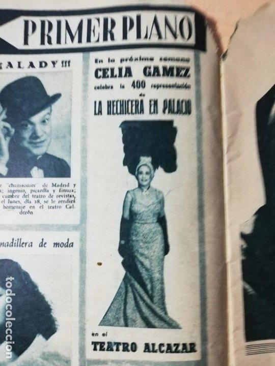 CELIA GAMEZ. REVISTA COMPLETA. 1951 (Cine - Revistas - Primer plano)
