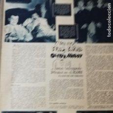 Cine: STAN LAUREL - OLIVER HARDI. REVISTA COMPLETA. 1944. Lote 187508226
