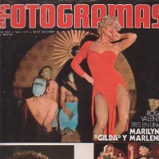 Cine: FOTOGRAMAS Nº 1419 DICIEMBRE 1975 - ROSA VALENTI / JAMES CAAN / ESTHER WILLIAMS. Lote 187513778