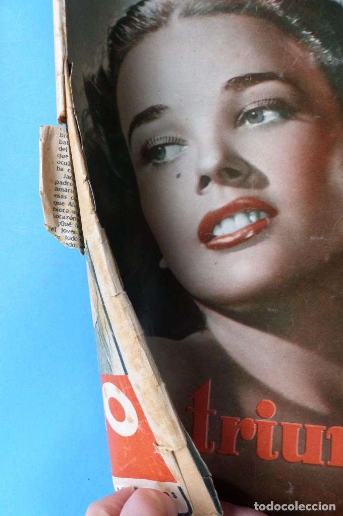 Cine: TRIUNFO, 13 ANTIGUAS REVISTAS, AÑOS 1940-1950-1960 - VER FOTOS ADICIONALES - Foto 7 - 187612441