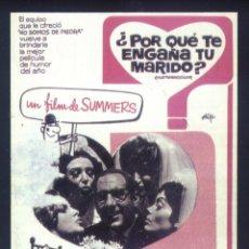 Cinema: P-8536- POR QUE TE ENGAÑA TU MARIDO (RECORTE PRENSA 8 X 12) ALFREDO LANDA - INGRID GARBO. Lote 187612785
