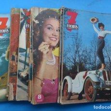Cine: 7 FECHAS, 9 ANTIGUAS REVISTAS, AÑOS 1960-1970 - VER FOTOS ADICIONALES. Lote 187613318