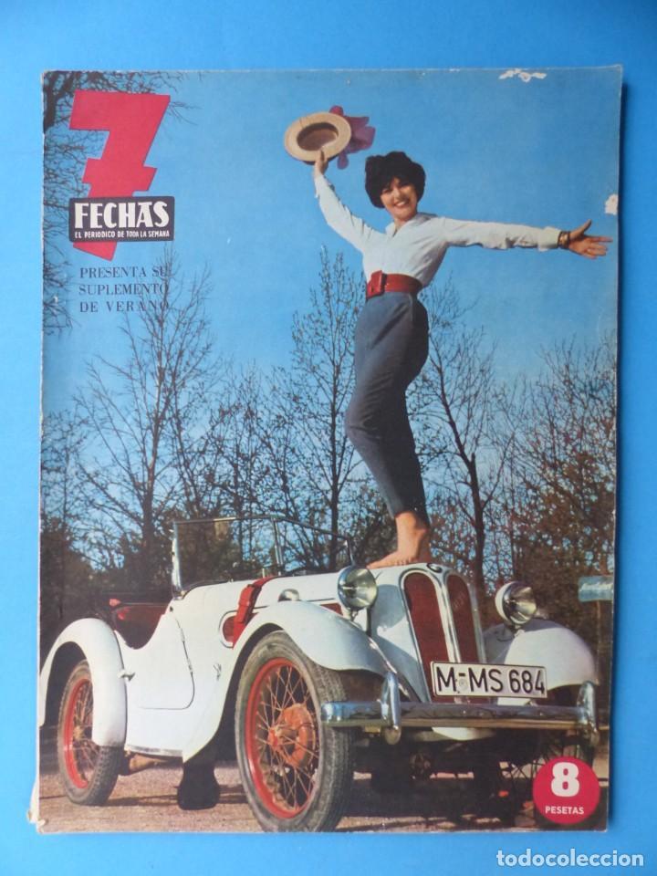 Cine: 7 FECHAS, 9 ANTIGUAS REVISTAS, AÑOS 1960-1970 - VER FOTOS ADICIONALES - Foto 2 - 187613318