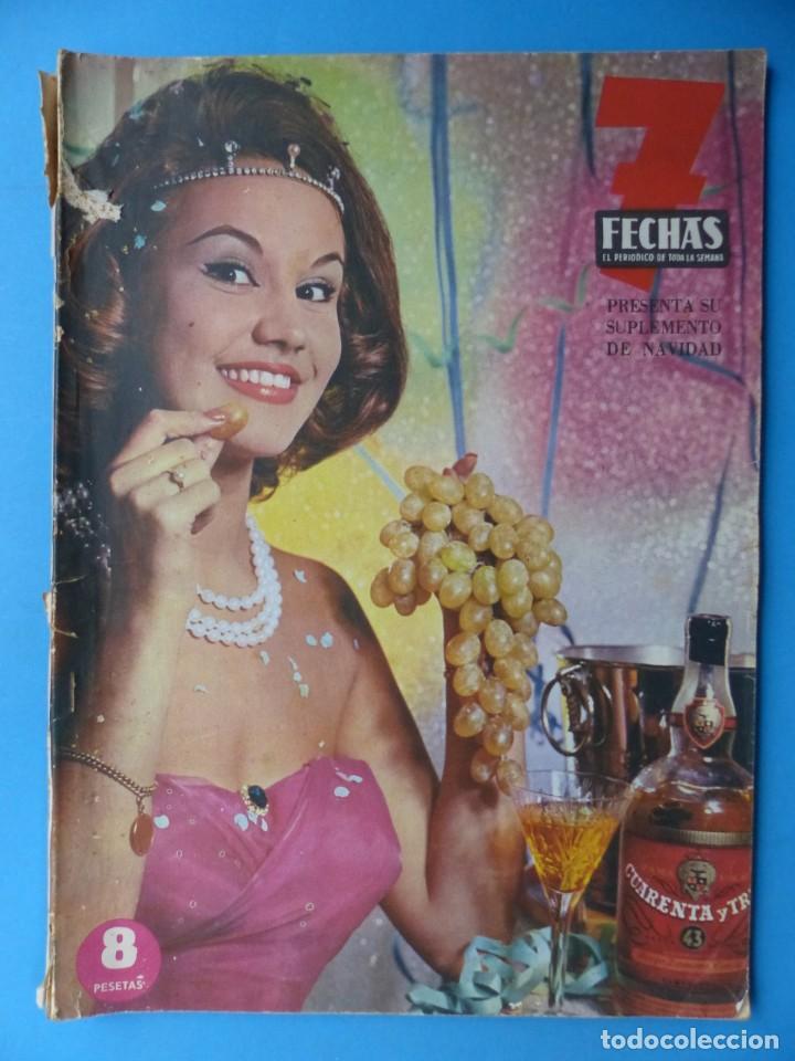 Cine: 7 FECHAS, 9 ANTIGUAS REVISTAS, AÑOS 1960-1970 - VER FOTOS ADICIONALES - Foto 3 - 187613318