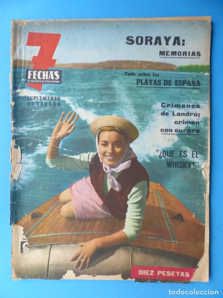 Cine: 7 FECHAS, 9 ANTIGUAS REVISTAS, AÑOS 1960-1970 - VER FOTOS ADICIONALES - Foto 4 - 187613318