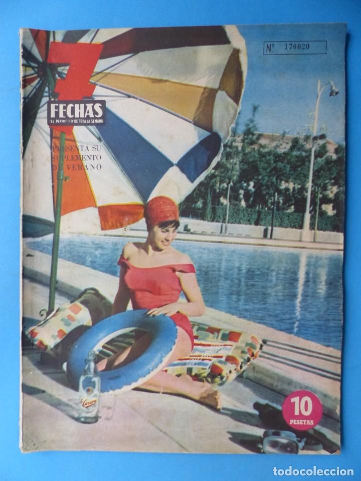 Cine: 7 FECHAS, 9 ANTIGUAS REVISTAS, AÑOS 1960-1970 - VER FOTOS ADICIONALES - Foto 5 - 187613318