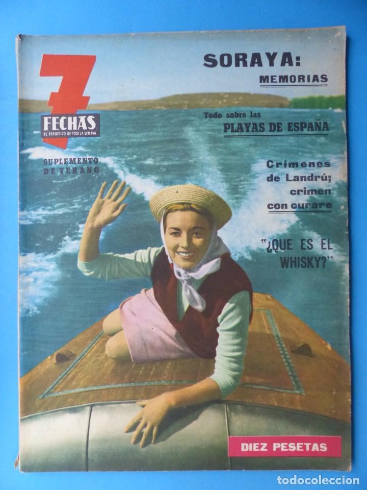 Cine: 7 FECHAS, 9 ANTIGUAS REVISTAS, AÑOS 1960-1970 - VER FOTOS ADICIONALES - Foto 8 - 187613318