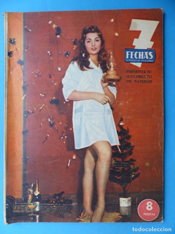 Cine: 7 FECHAS, 9 ANTIGUAS REVISTAS, AÑOS 1960-1970 - VER FOTOS ADICIONALES - Foto 9 - 187613318