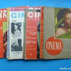 Cine: CINEMA, 16 ANTIGUAS REVISTAS, AÑOS 1940-1950-1960 - VER FOTOS ADICIONALES. Lote 187614470