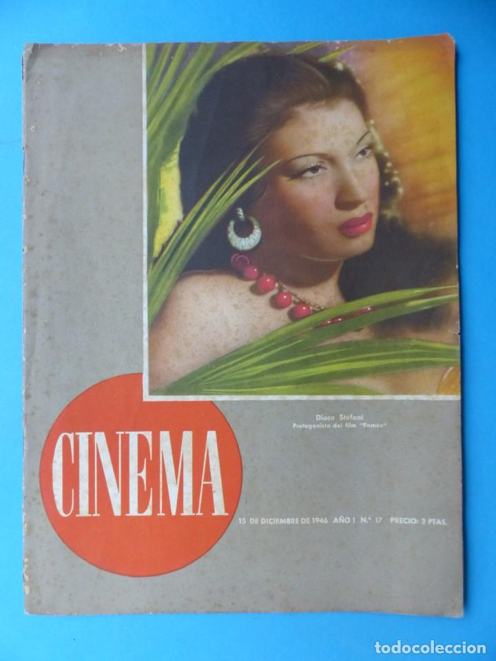 Cine: CINEMA, 16 ANTIGUAS REVISTAS, AÑOS 1940-1950-1960 - VER FOTOS ADICIONALES - Foto 2 - 187614470