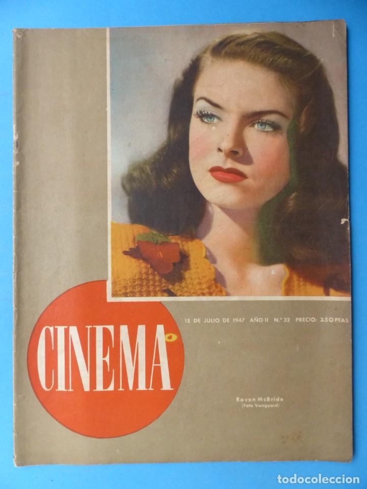 Cine: CINEMA, 16 ANTIGUAS REVISTAS, AÑOS 1940-1950-1960 - VER FOTOS ADICIONALES - Foto 3 - 187614470