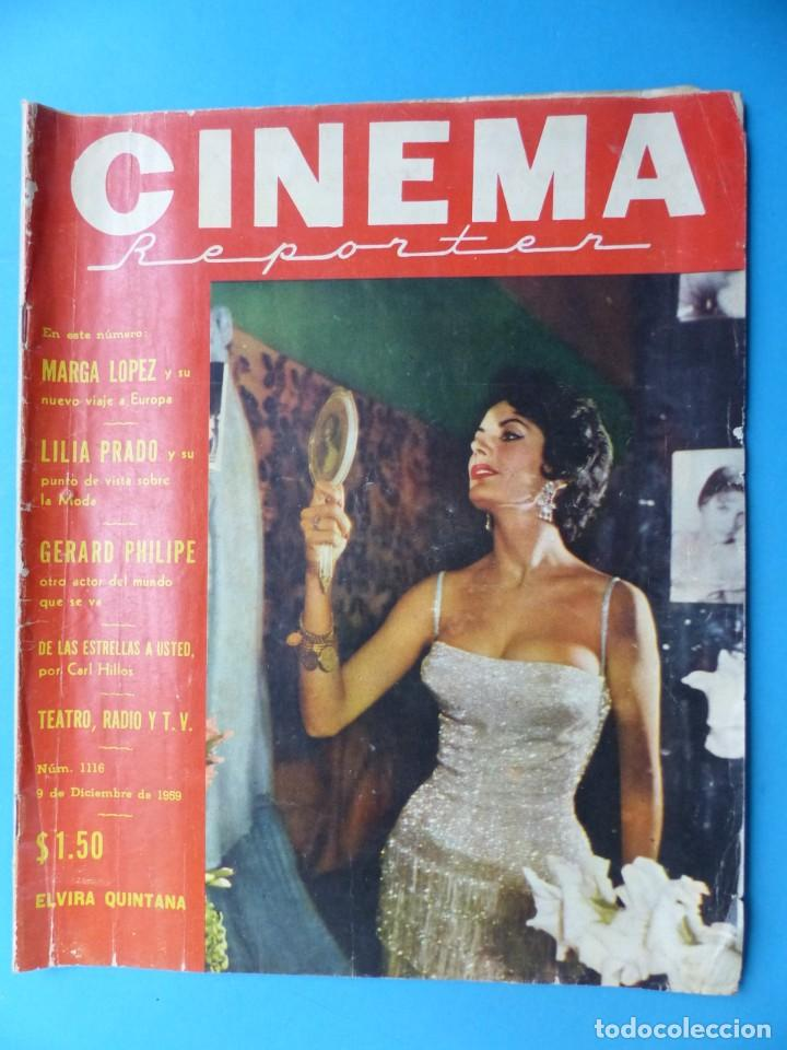 Cine: CINEMA, 16 ANTIGUAS REVISTAS, AÑOS 1940-1950-1960 - VER FOTOS ADICIONALES - Foto 4 - 187614470