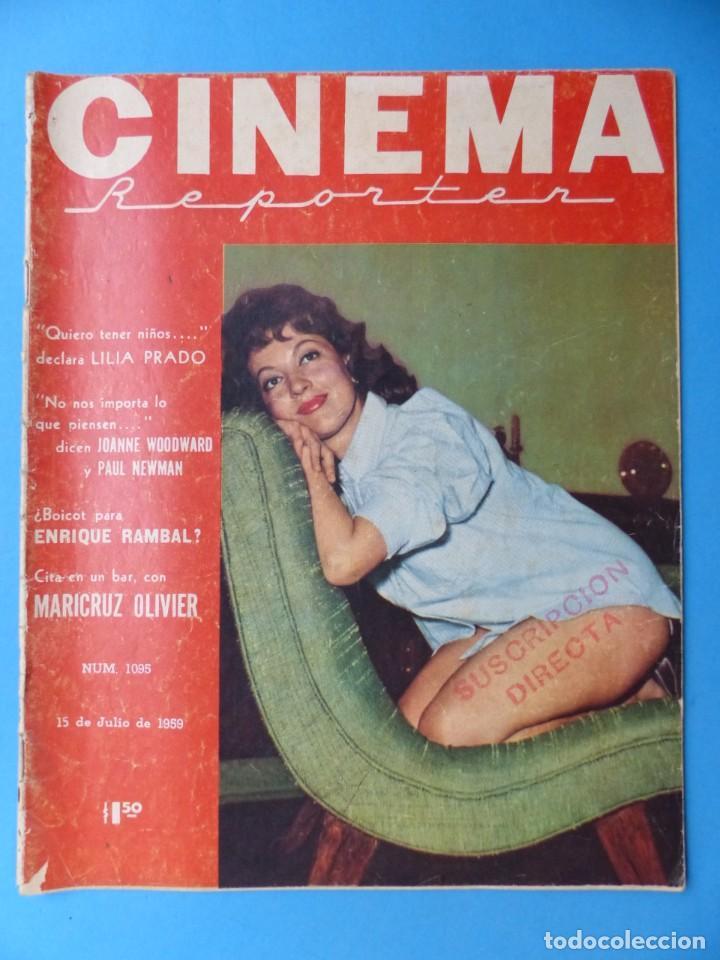 Cine: CINEMA, 16 ANTIGUAS REVISTAS, AÑOS 1940-1950-1960 - VER FOTOS ADICIONALES - Foto 5 - 187614470