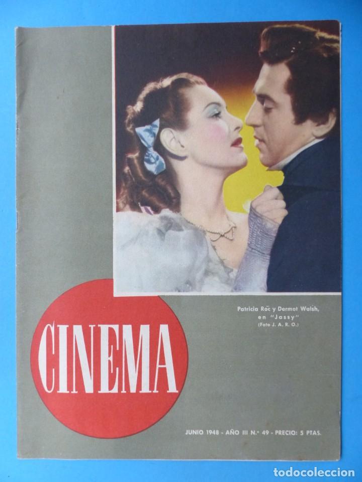 Cine: CINEMA, 16 ANTIGUAS REVISTAS, AÑOS 1940-1950-1960 - VER FOTOS ADICIONALES - Foto 6 - 187614470