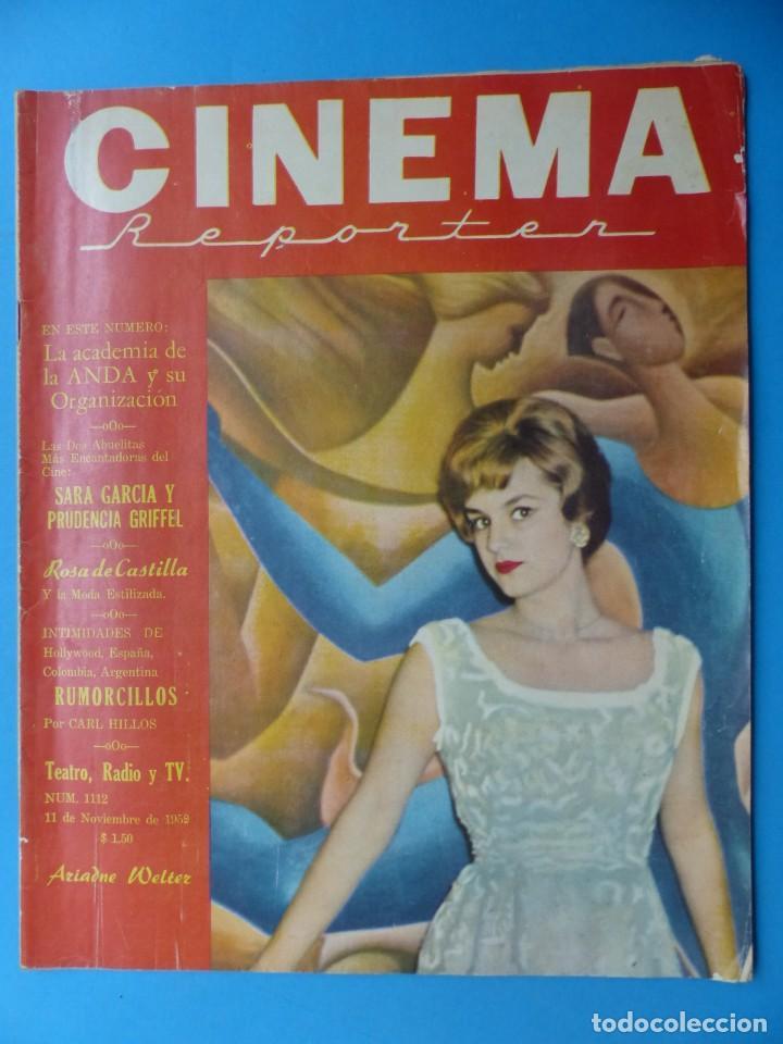 Cine: CINEMA, 16 ANTIGUAS REVISTAS, AÑOS 1940-1950-1960 - VER FOTOS ADICIONALES - Foto 7 - 187614470