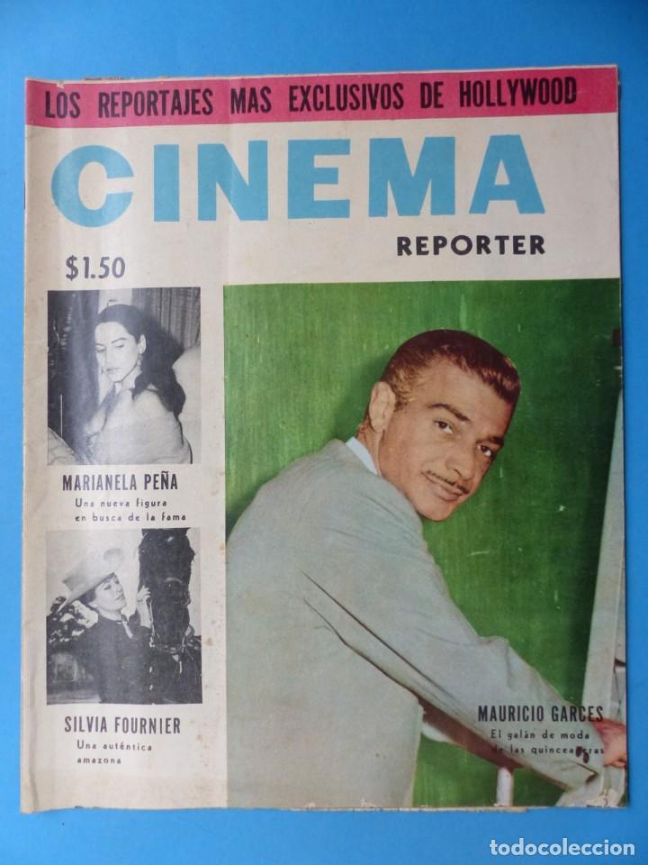 Cine: CINEMA, 16 ANTIGUAS REVISTAS, AÑOS 1940-1950-1960 - VER FOTOS ADICIONALES - Foto 8 - 187614470