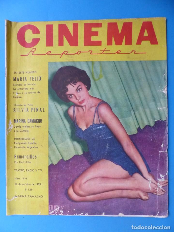 Cine: CINEMA, 16 ANTIGUAS REVISTAS, AÑOS 1940-1950-1960 - VER FOTOS ADICIONALES - Foto 10 - 187614470