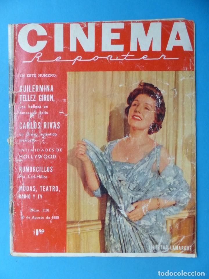 Cine: CINEMA, 16 ANTIGUAS REVISTAS, AÑOS 1940-1950-1960 - VER FOTOS ADICIONALES - Foto 11 - 187614470