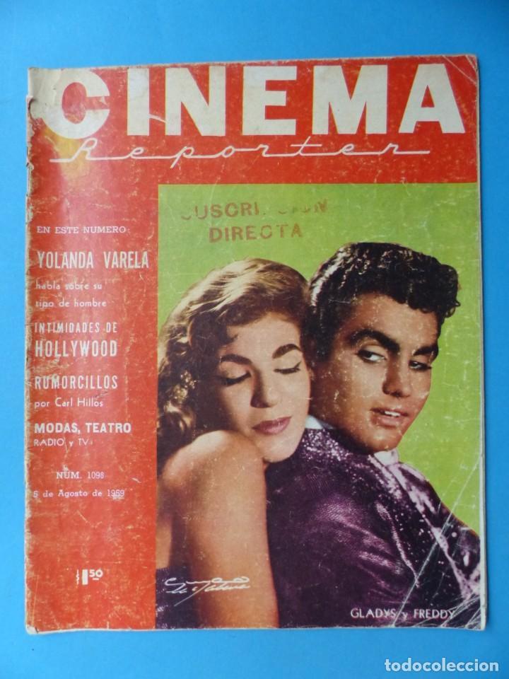 Cine: CINEMA, 16 ANTIGUAS REVISTAS, AÑOS 1940-1950-1960 - VER FOTOS ADICIONALES - Foto 14 - 187614470