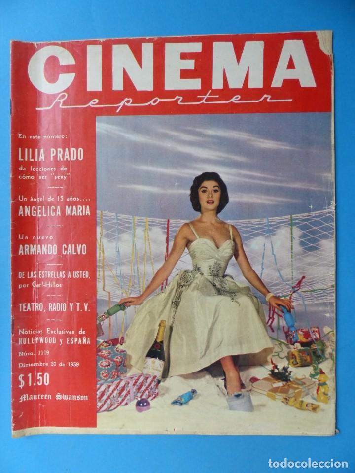 Cine: CINEMA, 16 ANTIGUAS REVISTAS, AÑOS 1940-1950-1960 - VER FOTOS ADICIONALES - Foto 16 - 187614470