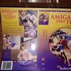 Cine: CARÁTULA PROMOCIONAL: AMIGAS PARA TODO - HENTAI MANGA. Lote 188412440