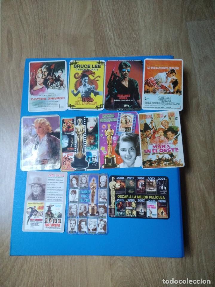 11 CALENDARIOS DE TEMÁTICA CINE AÑOS 90.00 (Cine - Reproducciones de carteles, folletos...)