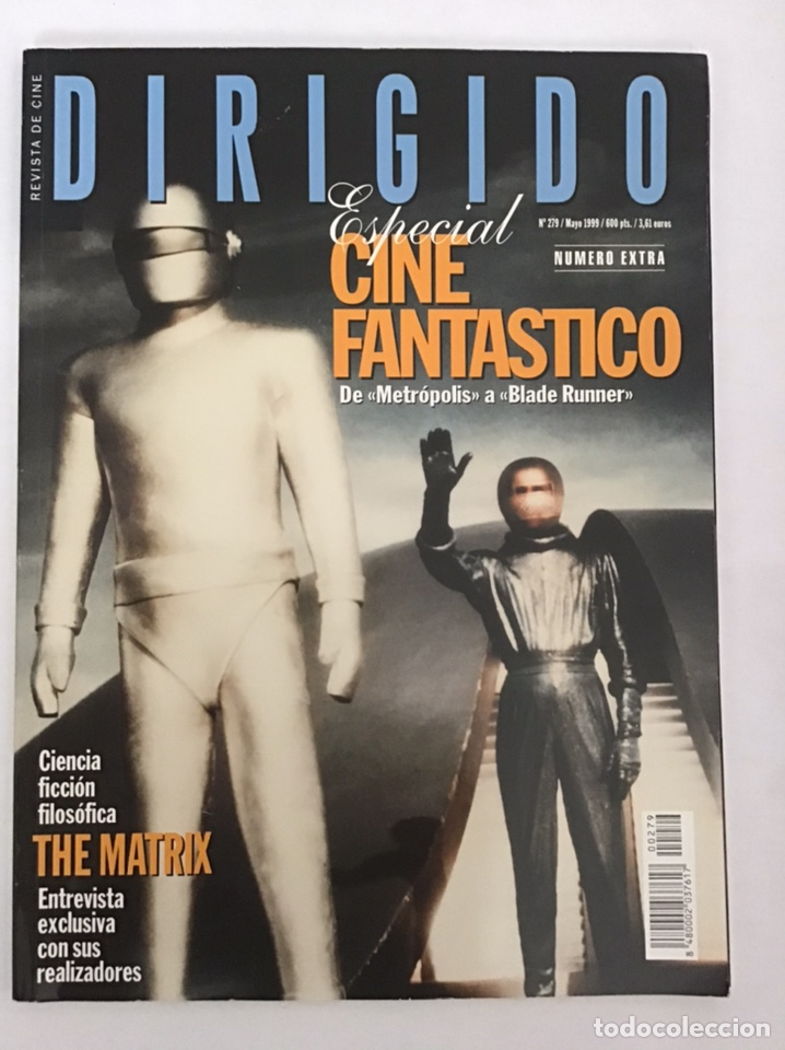 DIRIGIDO. ESPECIAL CINE FANTÁSTICO. 1999 (Cine - Revistas - Dirigido por)