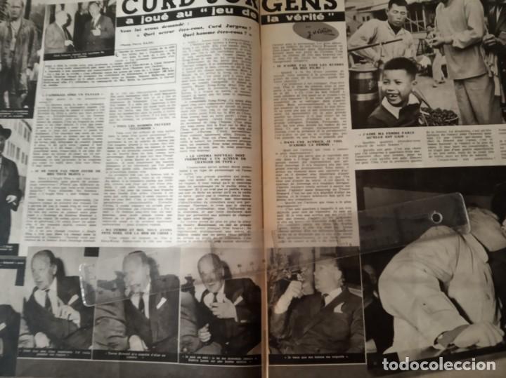 Cine: REVISTA CINE TELE REVUE EN FRANCES-PASCALE PETIT,CURD JURGENS,RICHARD WIDMARK,LINO VENTURA - Foto 2 - 188782455
