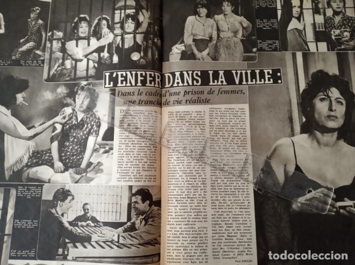 Cine: REVISTA CINE TELE REVUE EN FRANCES-PASCALE PETIT,CURD JURGENS,RICHARD WIDMARK,LINO VENTURA - Foto 3 - 188782455