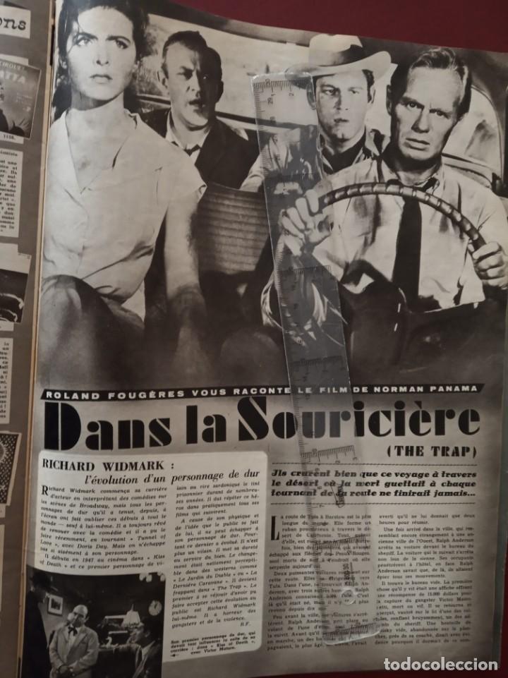 Cine: REVISTA CINE TELE REVUE EN FRANCES-PASCALE PETIT,CURD JURGENS,RICHARD WIDMARK,LINO VENTURA - Foto 5 - 188782455