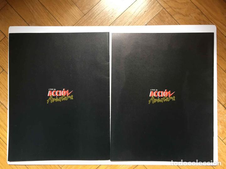 Cine: 2 fascículos CINE DE ACCIÓN Y AVENTURA (Planeta De Agostini, 1993) Nºs 1 y 2 ¡Coleccionista! - Foto 2 - 189893342