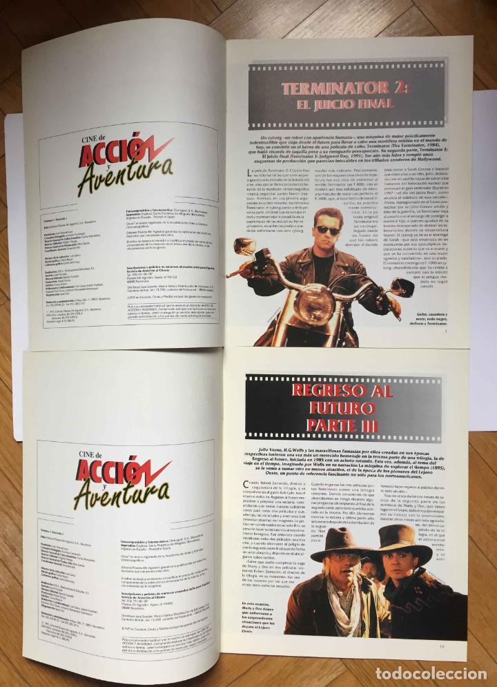 Cine: 2 fascículos CINE DE ACCIÓN Y AVENTURA (Planeta De Agostini, 1993) Nºs 1 y 2 ¡Coleccionista! - Foto 3 - 189893342