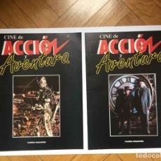 Cine: 2 FASCÍCULOS CINE DE ACCIÓN Y AVENTURA (PLANETA DE AGOSTINI, 1993) NºS 1 Y 2 ¡COLECCIONISTA!. Lote 189893342