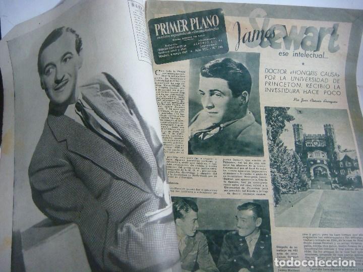 Cine: REVISTA DE CINE DE PRIMER PLANO Nº-342 FECHA 1947 - Foto 2 - 190040685