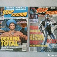 Cinema: REVISTA STAR FICCION EDICION ESPAÑOLA DE STARLOG,EDICIONES ZINCO.16 Nº COLECCIÓN COMPLETA,NUEVAS.. Lote 190021058