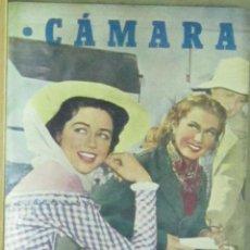 Cine: AAA10 RUTH ROMAN VIRGINIA MAYO REVISTA ESPAÑOLA CAMARA JULIO 1951. Lote 190366400