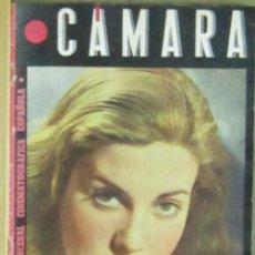 Cinéma: AAA19 ISABEL DE POMES REVISTA ESPAÑOLA CAMARA OCTUBRE 1945. Lote 190371343