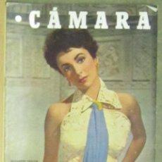 Cine: AAA22 ELIZABETH TAYLOR REVISTA ESPAÑOLA CAMARA ENERO 1952. Lote 190373335