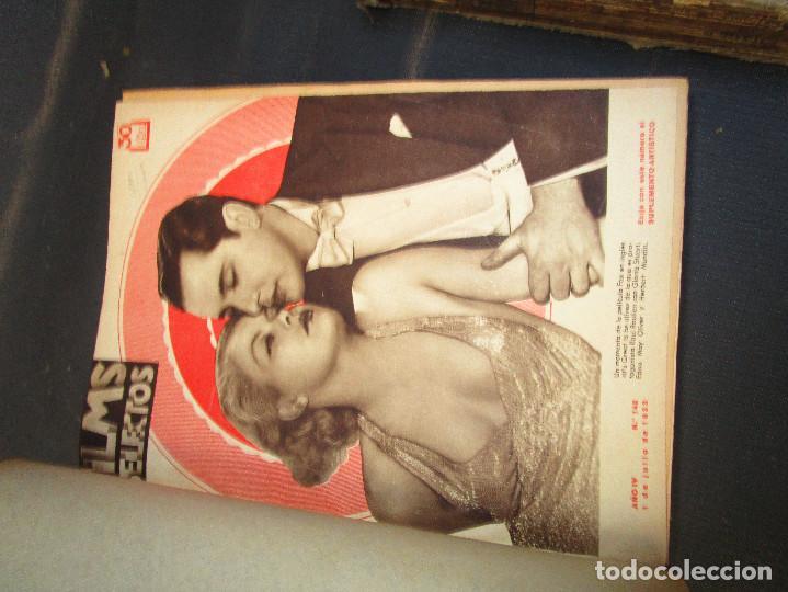 Cine: 3 TOMOS MUCHISIMAS REVISTAS CINE ANTIGUO FILMS SELECTOS 1932 COMPLETO Y LA MITAD DE 1933 - Foto 4 - 190388780