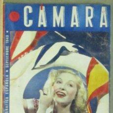 Cine: AAA33 LUCHY SOTO REVISTA ESPAÑOLA CAMARA SEPTIEMBRE 1943. Lote 190424443