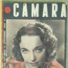 Cine: AAA34 JACQUELINE DELUBAC REVISTA ESPAÑOLA CAMARA SEPTIEMBRE 1942. Lote 190424982