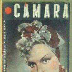 Cine: AAA35 MERCEDES VECINO REVISTA ESPAÑOLA CAMARA JULIO 1943. Lote 190425485