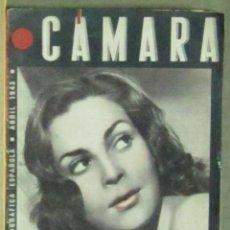 Cine: AAA36 ISABEL DE POMES REVISTA ESPAÑOLA CAMARA ABRIL 1943. Lote 190425831