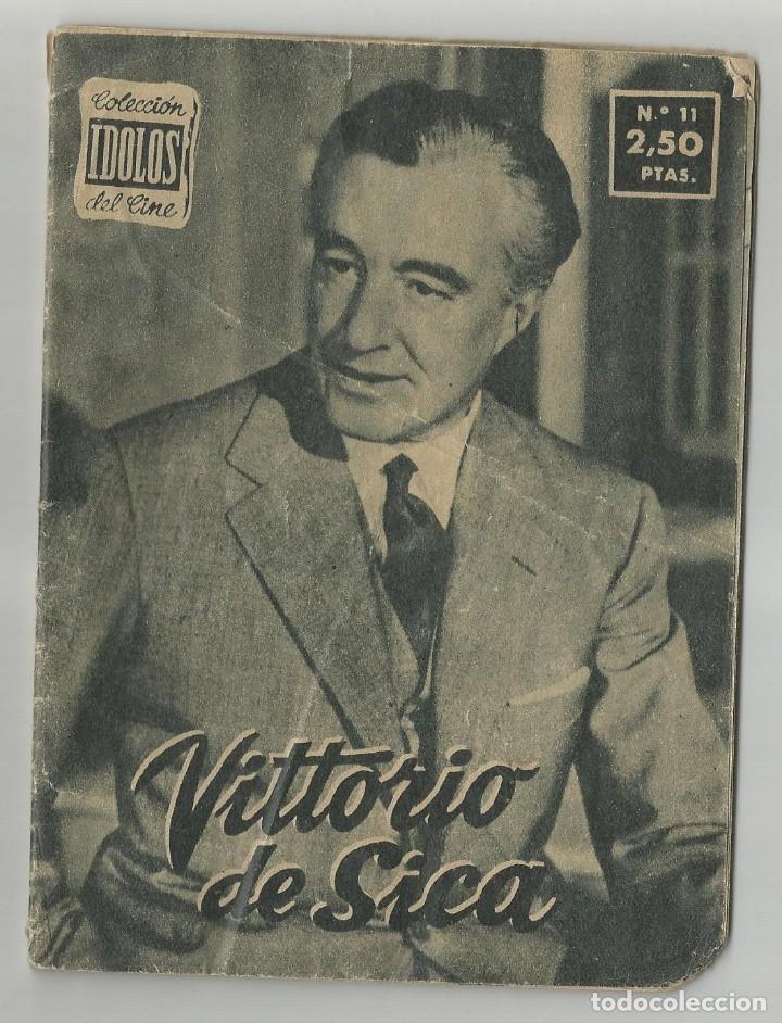 Cine: COLECCION IDOLOS DEL CINE LOTE DE 6 REVISTAS FOTOS EN BLANCO Y NEGRO .VARIEDAD.VER FOTOS- RELACION - Foto 4 - 189644123