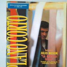 Cine: PLANO CORTO Nº 1 REVISTA DE LOS NUEVOS REALIZADORES JULIO 1993 MEDEM LA ARDILLA ROJA. Lote 190583487