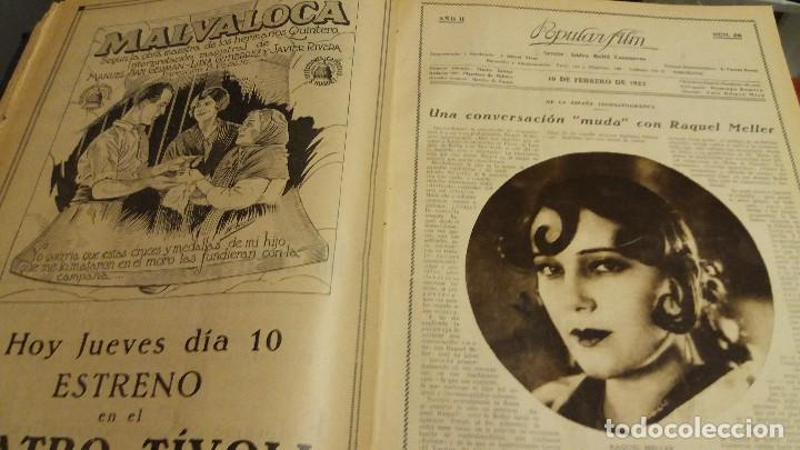 Cine: REVISTA POPULAR FILM (AÑOS 1926 - 1927). DEL Nº 1 AL 52 (1 VOLUMEN) - Foto 1 - 190625253