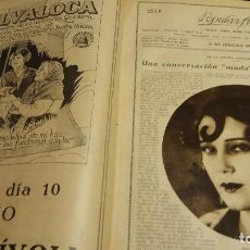 Cine: REVISTA POPULAR FILM (AÑOS 1926 - 1927). DEL Nº 1 AL 52 (1 VOLUMEN). Lote 190625253