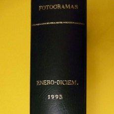 Cine: FOTOGRAMAS. TOMO AÑO 1995. Lote 190757325