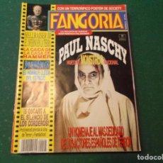 Cine: FANGORIA Nº 8, POSTER DE SOCIETY,PAUL NASCHI,HELLRAISER III,BORROWER,EL HORROR LLEGA DEL ESPACIO. Lote 190802040